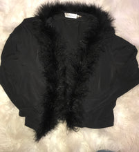 Load image into Gallery viewer, 90's Calvin Klein Fur Top