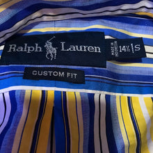 Load image into Gallery viewer, Retro Ralph Lauren Stripped Button Down