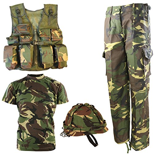 Kombat UK Military Kids Number 1 Army Combo Set - British DPM/Camo