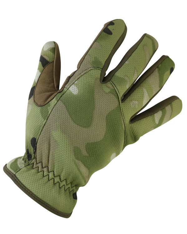 Kombat UK Military Delta Fast Gloves - BTP / British Terrain Pattern