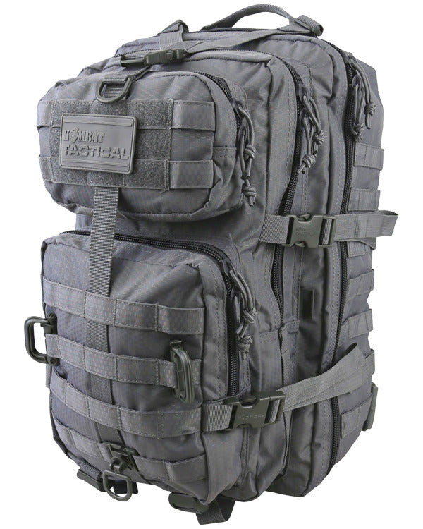 Kombat UK Military Hex Stop Reaper Rucksack Backpack Pack 40 Litre Gunmetal Grey