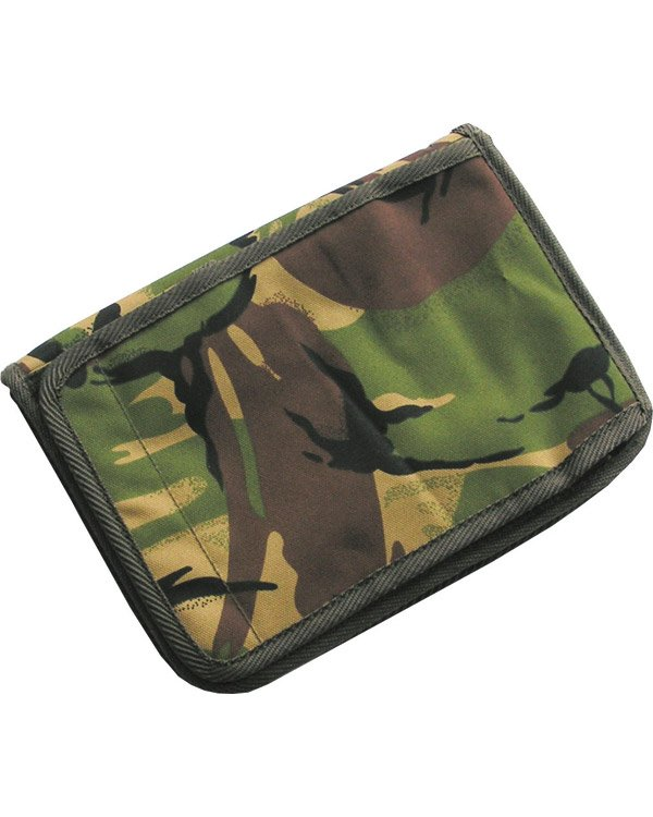 Kombat UK Military A5 Folder/Notebook - British DPM/Camo
