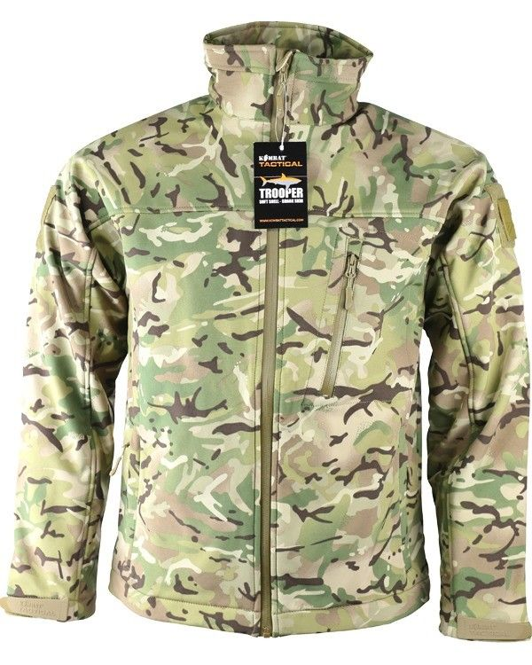 Kombat UK Military TROOPER - Tactical Soft Shell Jacket - BTP  ( NEW STYLE )