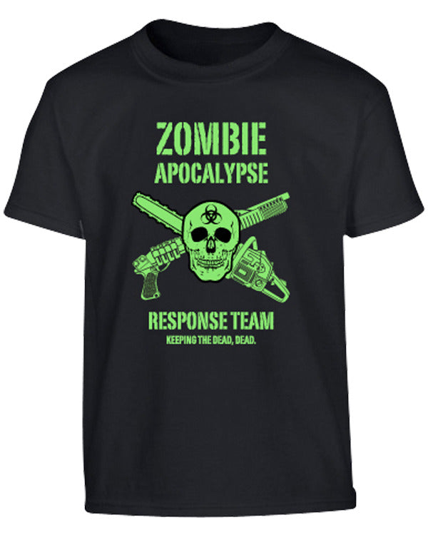 Kombat UK Military Kids Zombie Apocalypse T-shirt - Black