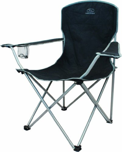 Highlander Lightweight, Durable Folding Camping, Fishing and Festival Chair