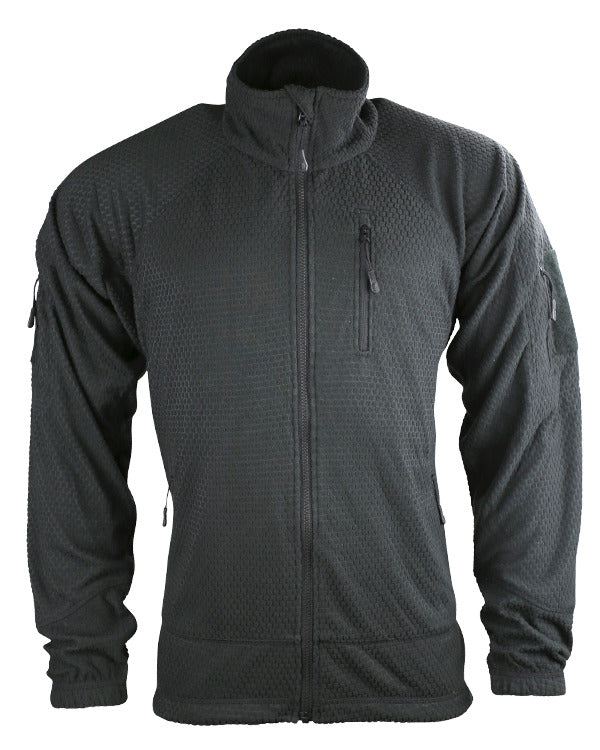 Kombat UK Military Delta Tactical Grid Fleece - Black