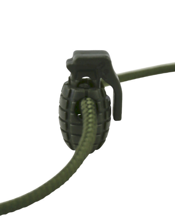 Kombat UK Military Grenade Cord Stoppers - Olive Green
