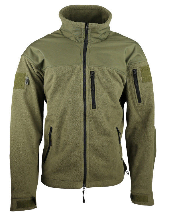 Kombat UK Military Defender Tactical  Fleece - Olive Green