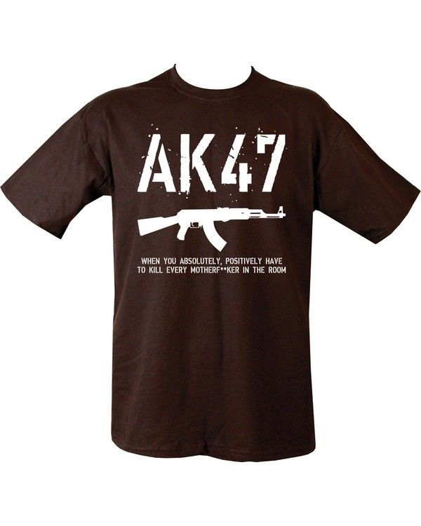 Kombat UK Military AK47 T-shirt - Black