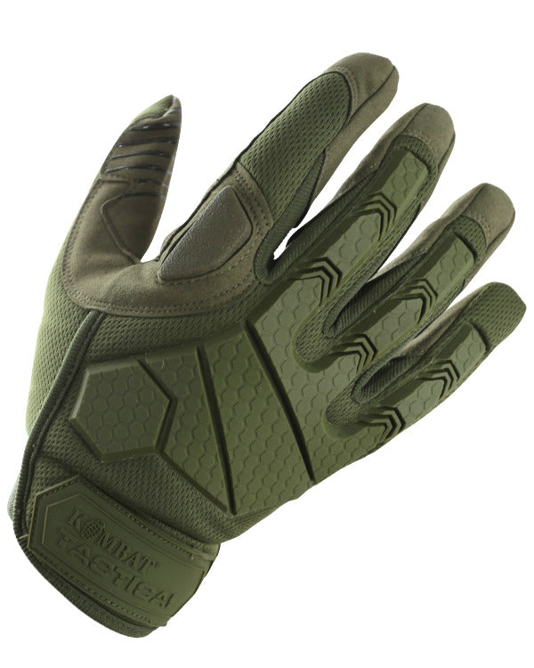 Kombat UK Military Alpha Tactical Gloves - Olive Green