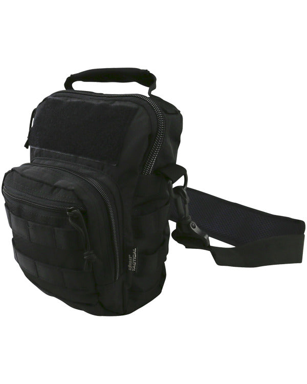 Kombat UK Military Hex - Stop  Explorer Shoulder Travel Bag - Black