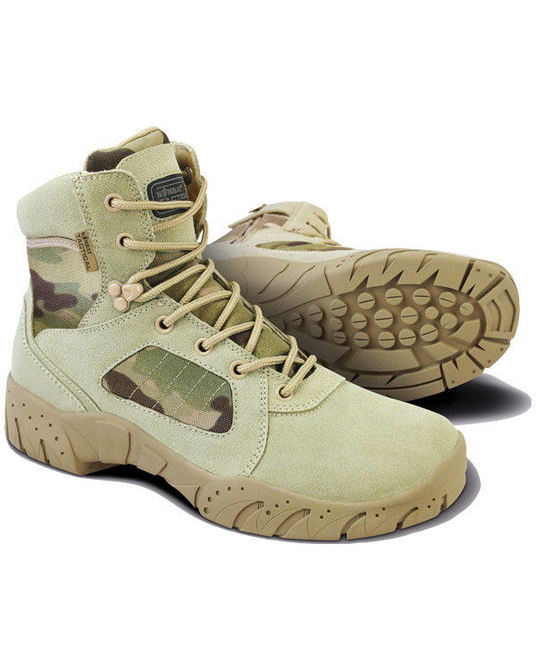 Kombat UK Military 6 Inch Tactical Pro Boots - Multicam