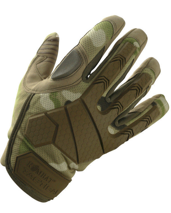 Kombat UK Military Alpha Tactical Gloves - BTP / British Terrain Pattern