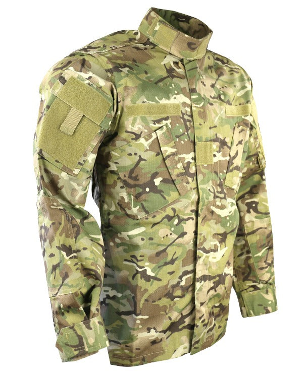 Kombat UK Military Assault Shirt - ACU Style - BTP / British Terrain Pattern