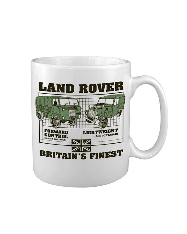 Kombat UK Military Land Rover - Air Portable Ceramic Durham Mug