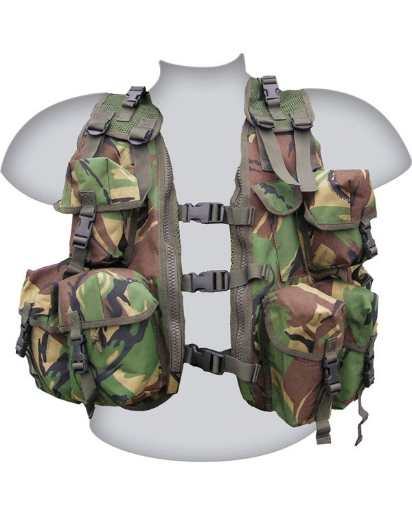 Kombat UK Military Classic Assault Vest - British DPM/Camo