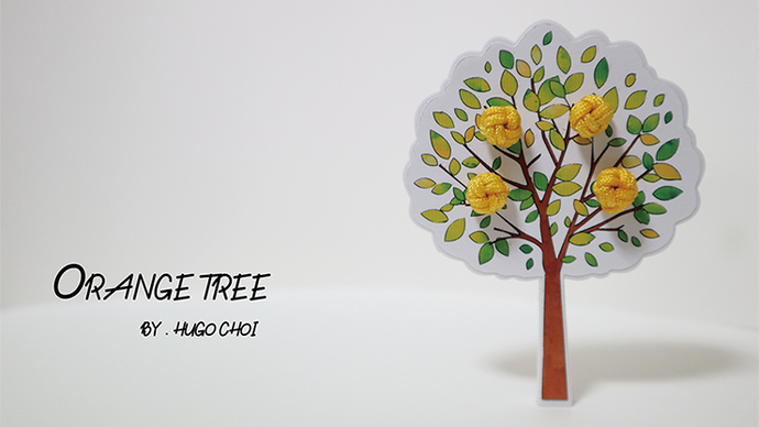 Orange Tree (Gimmick and Online Instructions) by Hugo Choi - Trick