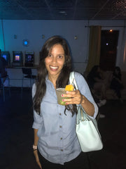 fierce fruit fan at sans bar mocktail night