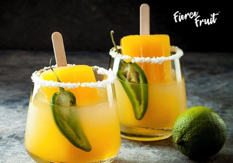 fierce fruit spicy mango passion popsicle mocktail recipe