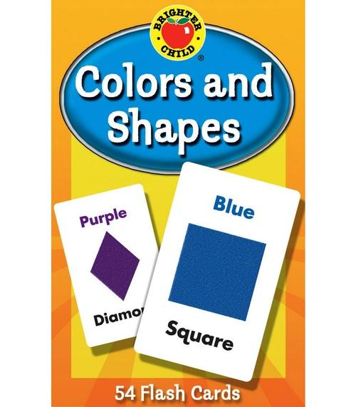Colors and Shapes Flash Cards (Brighter Child)
