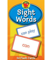 Sight Words Flash Cards (Brighter Child)