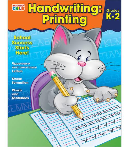 Handwriting: Printing Workbook (Brighter Child)