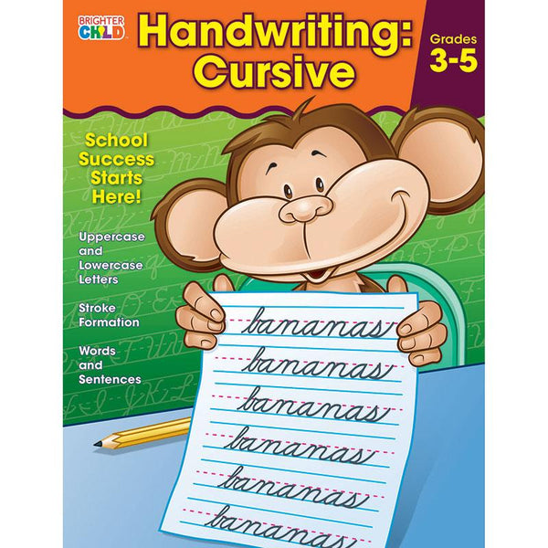 Handwriting: Cursive Workbook (Brighter Child)