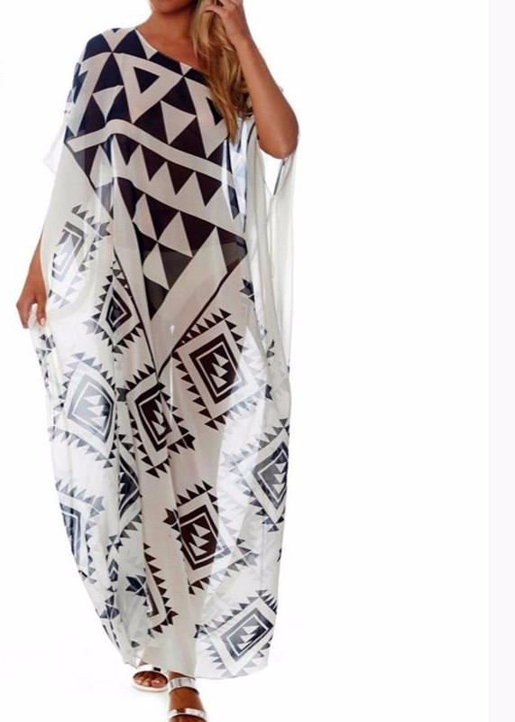 Plus size Beach Cover up Dress
