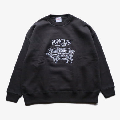 PORK FRONT STITCH SWEAT