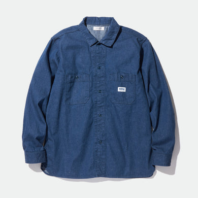 MONK - REGULAR COLLARED SHIRT L/S