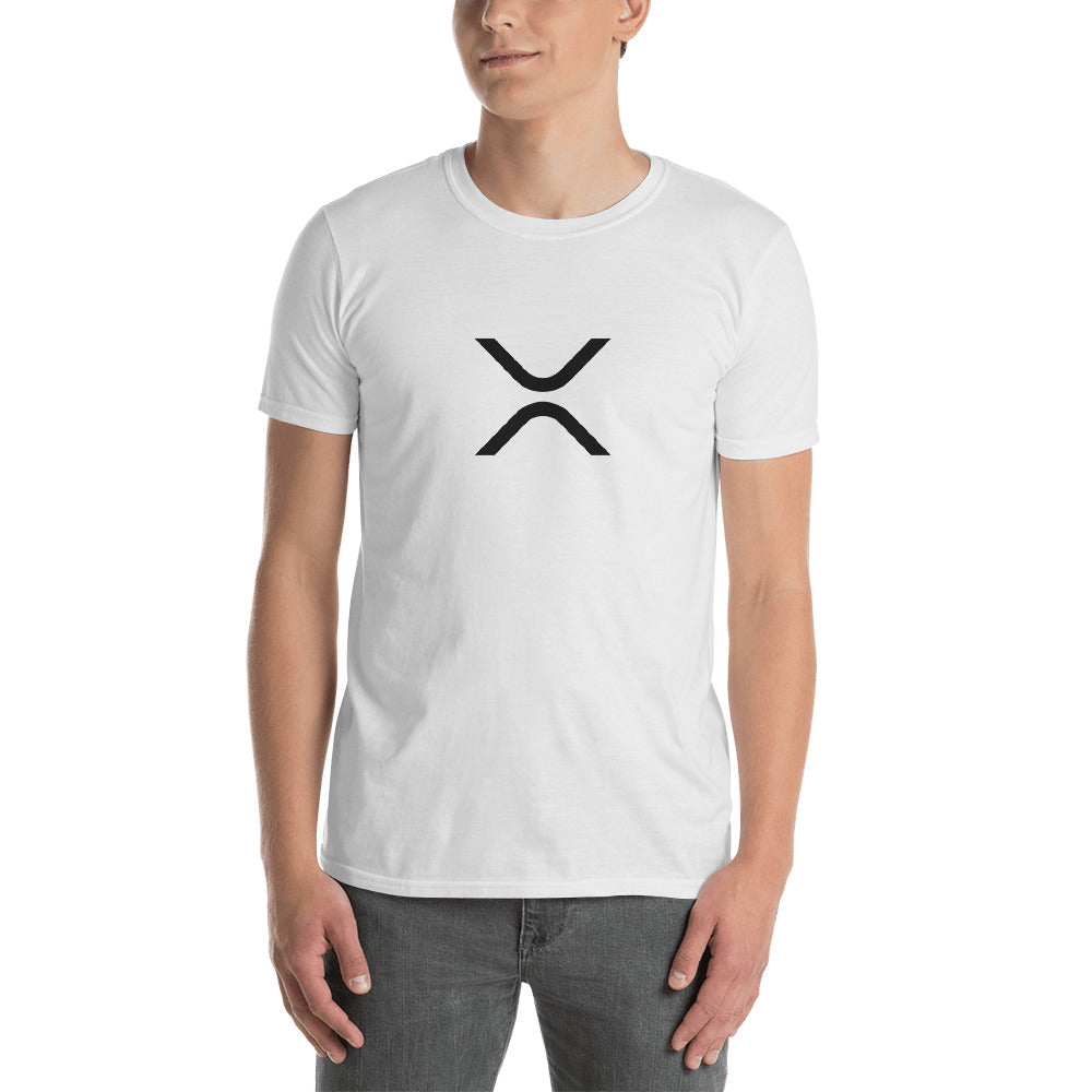 XRP Logo White Short-Sleeve Unisex T-Shirt