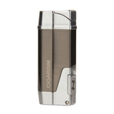 CIGARISM Zinc Alloy Professional 1 Torch Cigar Lighter with Punch Adjuster