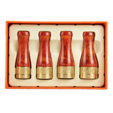 CIGARISM Pure Copper Resin Cigar Mouthpiece Case Nozzle Holder Pipe 4 Sizes (Red)