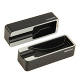 CIGARISM Creative Double-Sided Aluminum Alloy Metal Cigar Travel Ashtray