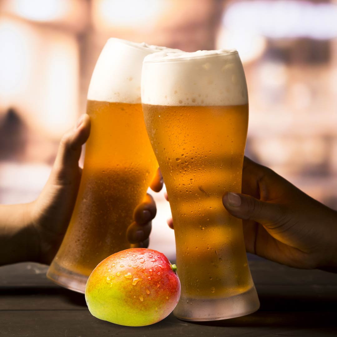 The perfect combination is Mango and Beer, Together!