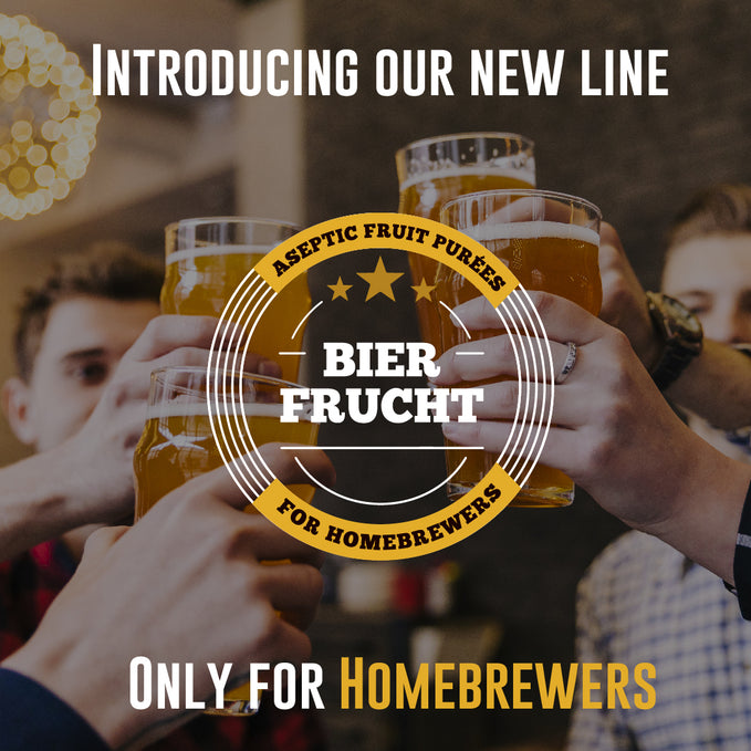 We want to introduce you to our new line: BierFrucht