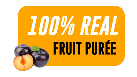 44 Lb Plum Aseptic Fruit Purée Bag