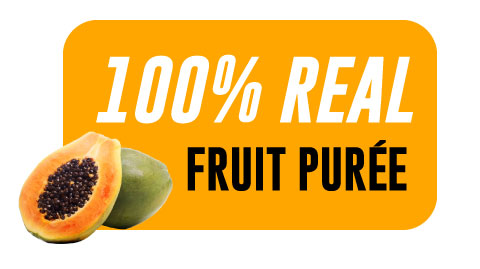 Papaya Aseptic Fruit Purée Bag