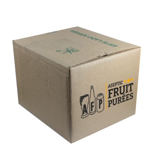 44 Lb Raspberry Aseptic Fruit Purée Bag*Out of Stock - Scheduled by the end of February