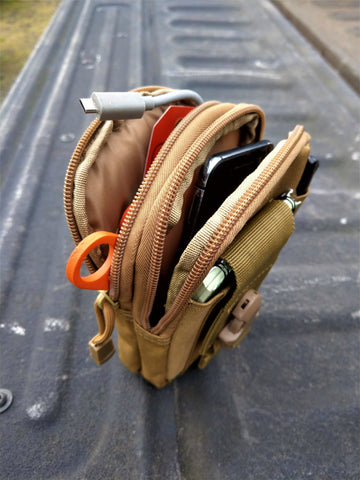 Tech pouch for your outdoor gear
