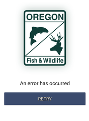 MyODFW app issues for e-tagging big game in Oregon