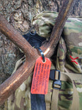 Oregon Hunt Tag filled out tag on a rocky mountain elk. For use with 2019 Oregon Hunting License