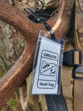 Oregon Hunt-Tag Paper Tag Bag for use on deer, elk, bear, cougar, turkey, or antelope