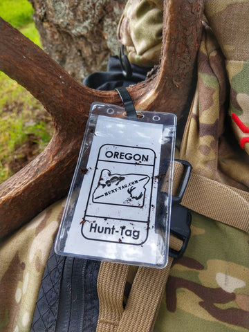 Oregon Hunting Tag Bag for Paper tagging in Oregon 2019