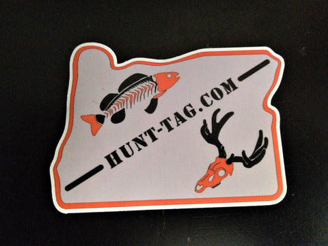 Oregon hunting tag company logo for hunt-tag.com