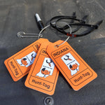 Indiana transportation tag kit for attaching required information to harvested game