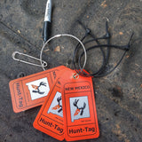 New Mexico Hunting Tags for tagging harvested elk and deer