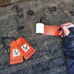 New Mexico hunting tag kit for e-tagging after a successful hunt with the correct information