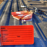 Hunting tags for electronically tagging deer in West Virginia with Game Check