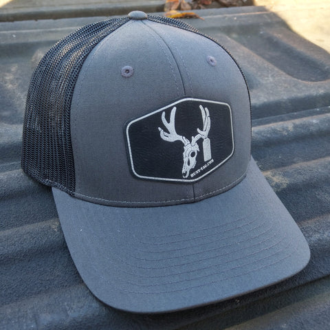 Hunt-Tag Buck Patch Logo Hat
